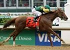 Hystericalady Wins Humana Distaff in Laugher
