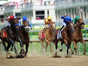 First Dude Wins Alysheba by a Slim Nose