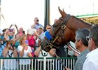 American Pharoah Parades at Churchill Downs