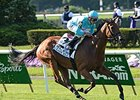 Lady Eli Works on Inner Turf at Belmont