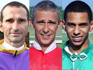 Three Evangeline Downs Jockeys Arrested Bloodhorse Com