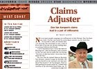 West Coast Regional: Claims Adjuster