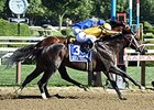 Rock Fall, Curalina Work for Grade I Stakes