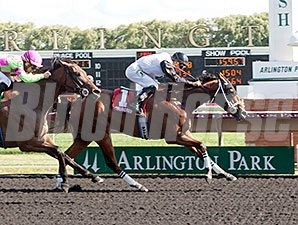 Recount wins the 2015 Addison Cammack Handicap.