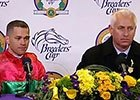 BC 2015 Distaff Press Conf: Pletcher & Castellano