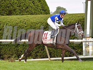 Tepin dominates the First Lady Stakes at Keeneland.