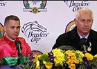 BC Distaff Press Conf: Pletcher & Castellano