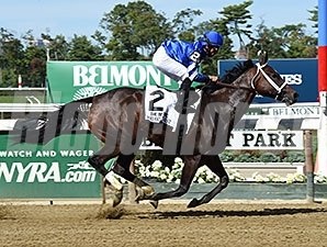Wedding Toast wins the 2015 Beldame.