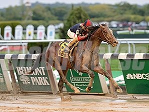 Tonalist wins the 2015 Jockey Club Gold Cup.