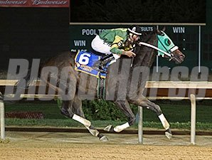 Help a Brother wins the 2015 WV Thoroughbred Breeders' Association Onion Juice Breeders Classic Stakes.