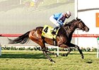 Uzziel Breaks Through in Goldikova Stakes