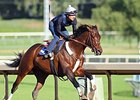Runhappy Drills Five Furlongs in Malibu Prep