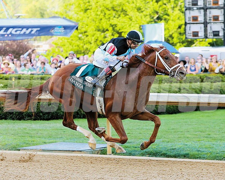DANZA wins the Arkansas Derby- Seventy Eighth Running - Grade I
