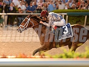Finishing 2 lengths in front of Valid, Mshawish now has grade I victories on turf and dirt