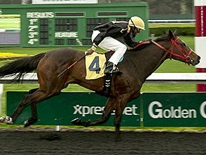 Spikes Rides First Winner at Golden Gate