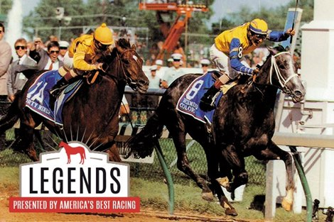 Legends Derby Filly Winning Colors Bloodhorse Com