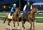 Gun Runner Continues Derby Preparations