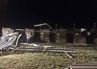 Tornado Damages Will Rogers' Barn Area