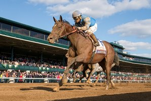 Blue Grass, Wood Memorial Downgraded