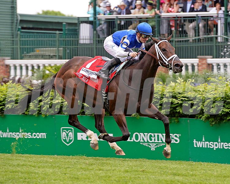 Tepin with Julien Leparoux wins the Churchill Distaff Turf Mile (gr. II)