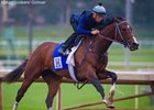 Songbird Works at Santa Anita, Target Unknown