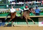 Cathryn Sophia Gets Distance, Takes KY Oaks