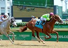 Catalina Red Sprints to Churchill Downs Win