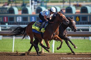 American Cleopatra Breezes for Baffert