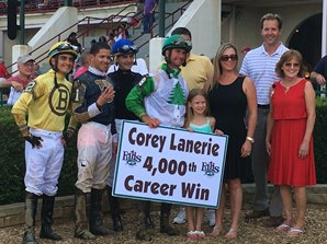 Lanerie Reaches 4,000th-Win Milestone