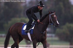 Beholder, Songbird Breeze at Santa Anita