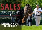 Keeneland September Sale Session 3 Recap