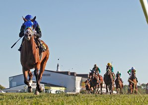 Maker, Geroux Sweep Kentucky Downs Stakes