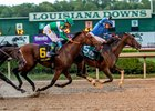 Texas Chrome Edges Dalmore in Super Derby