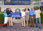 Braddy Reaches Milestone Win at Gulfstream