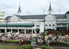 Churchill Downs Handle Up Slightly