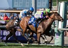New Money Honey Cashes Juvenile Fillies Turf