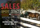 2016 Keeneland November Sale Day 2 Recap