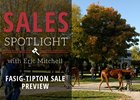 Fasig-Tipton November Sale Preview