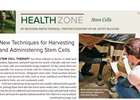 Health Zone: Stem Cell Therapy