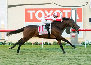Annals of Time Surges to Win Hollywood Derby