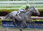 Squadron A Closes to Win Mr. Prospector Stakes