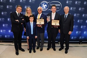 Arrogate Celebrated as Longines World's Best Racehorse