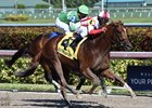 Favorable Outcome Flies Home in Swale