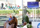 Lightning Strikes Twice for Frommer at Gulfstream Sale
