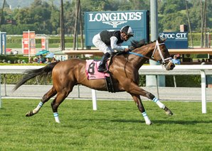 Conquest Farenheit Scores in Pasadena Stakes