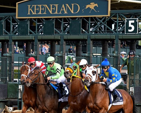Keeneland Announces 5 325 Million Stakes Schedule