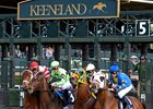 Keeneland Announces $5.325 Million Stakes Schedule
