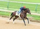 J Boys Echo Breezes Five Furlongs at Churchill