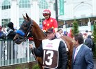 Kentucky Oaks Winner Abel Tasman Cuts Back in Acorn