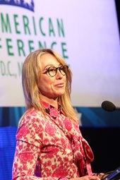 Belinda Stronach's Keynote Concludes Pan Am Conference
